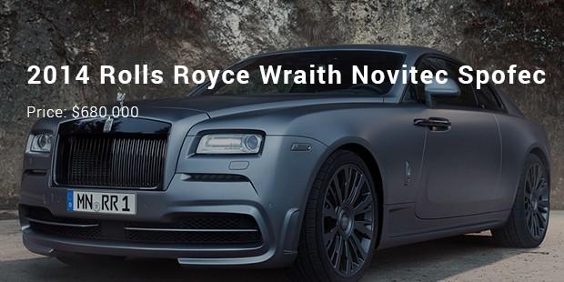 2014 rolls royce wraith novitec spofec