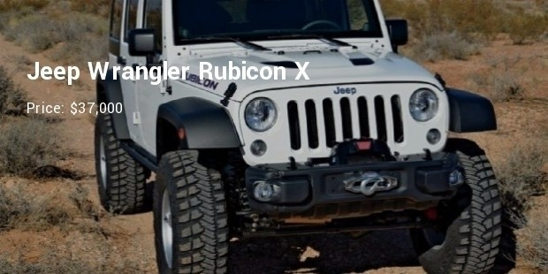 2014 jeep wrangler unlimited rubicon x front three quarter