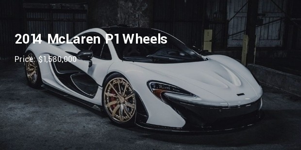 2014 mclaren p1 wheels and more   $1,580,000