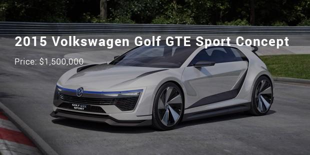2017 Volkswagen Golf Gte Sport Concept 1 500 000