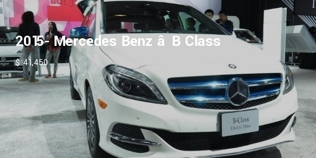 10 most expensive compact cars successstory for 2015 mercedes benz b class electric drive