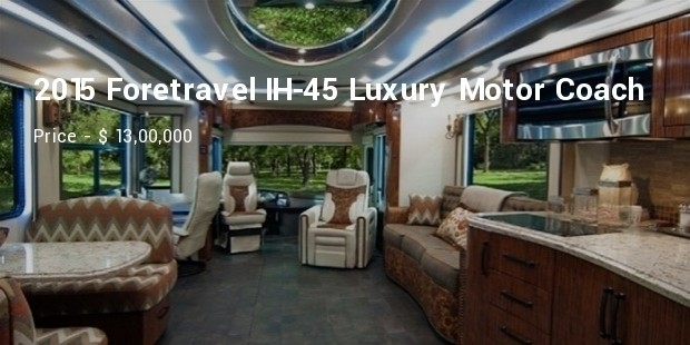 2015 foretravel ih 45 luxury motor coach