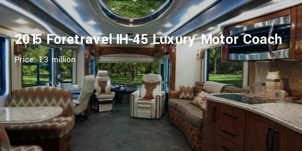 2015 foretravel ih 45 luxury motor coach