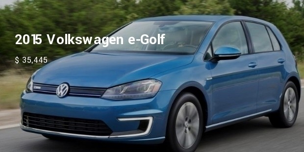 2015 volkswagen e golf