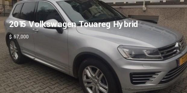 2015 volkswagen touareg hybrid   $ 67,000