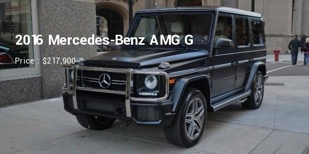 2016 mercedes benz amg g