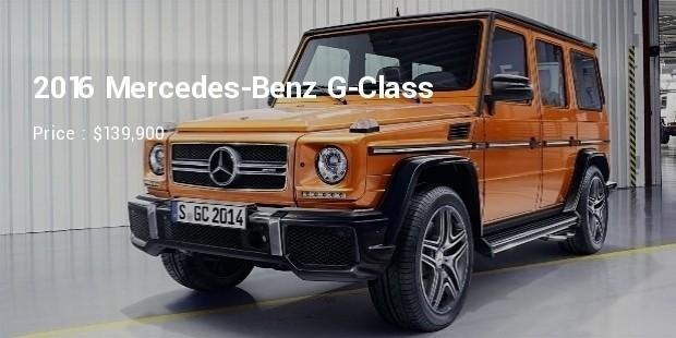 2016 mercedes benz g class