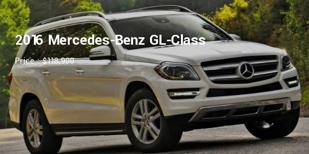 2016 mercedes benz gl class