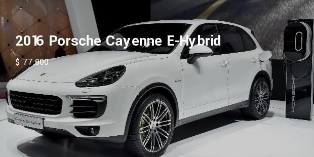 2016 porsche cayenne e hybrid