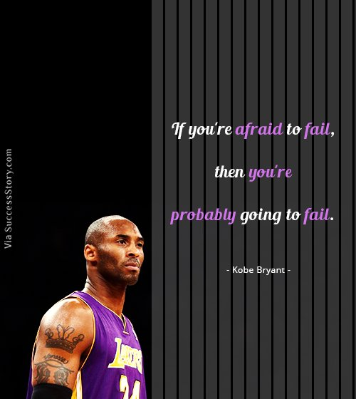 25 Best Motivational Quotes From Basketball Player Kobe Bryant