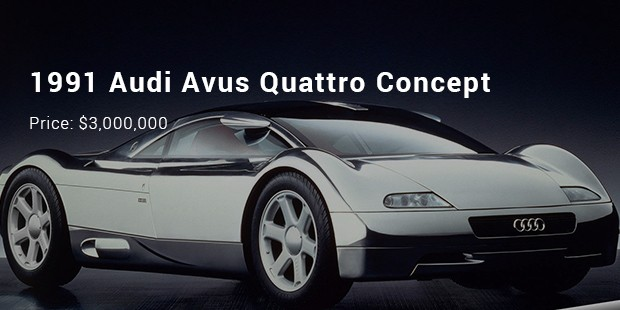 Captivating The Avus Quattro Concept Is Just Like A Dream On Wheels With Its Out Of The  Box Make And Superior Styling. The Car Is Backed By 6 L Engine Displacement  ...