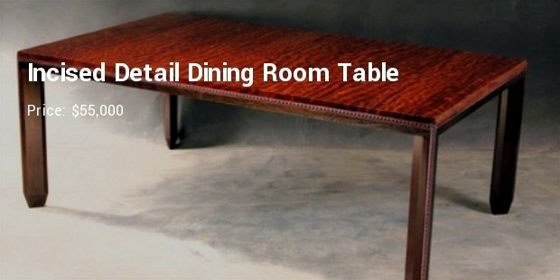 10 most expensive dining room tables successstory
