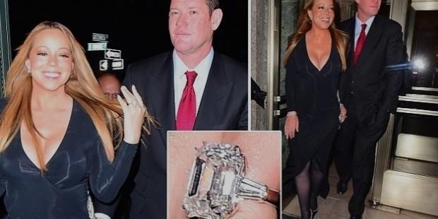 35 carat diamond and platinum ring