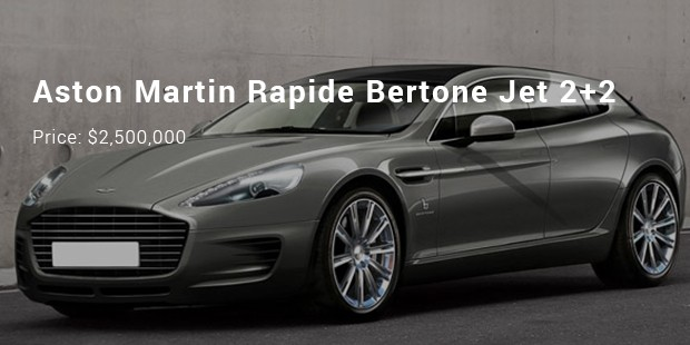 The Rapide Bertone Jet 2+2 Looks Smart And Is Equipped With 5.9 L Engine  Displacement Capacity As Well As Can Produce 477 Bhp Power.