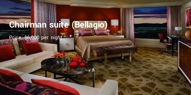 10 Most Expensive Hotel Rooms In Las Vegas Hotels Resorts