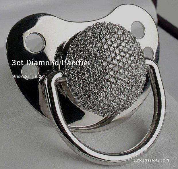 3ct diamond pacifier