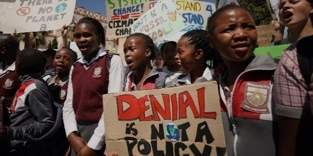 CHILDREN RISE FOR CLIMATE CHANGE