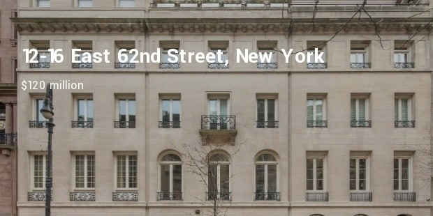 4 12 16 east 62nd street new york new york