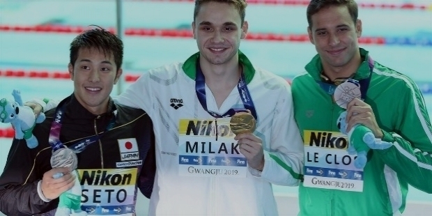 First Hungarian to Break 200m Butterfly World Record: Kristof Milak