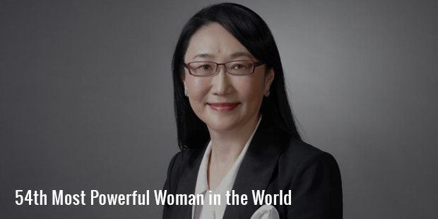 54th most powerful woman in the world