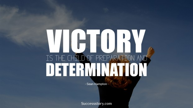 Victory is the child