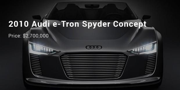 2013 Audi Nanuk Quattro Concept   $2,000,000
