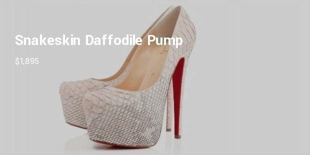 10 Most Expensive Louboutin shoes