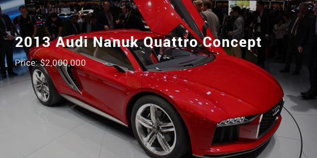Most Expensive Priced Audi Cars List Expensive Cars - Audi sports car price list