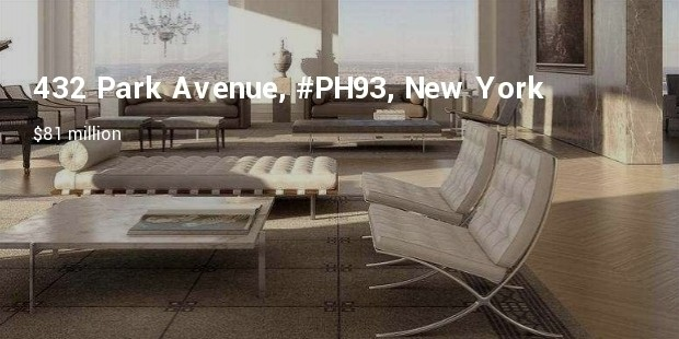 9 432 park avenue ph93 new york new york