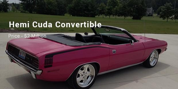 A 1970 Hemi Cuda Convertible