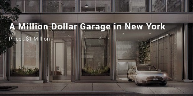 a million dollar garage in new york