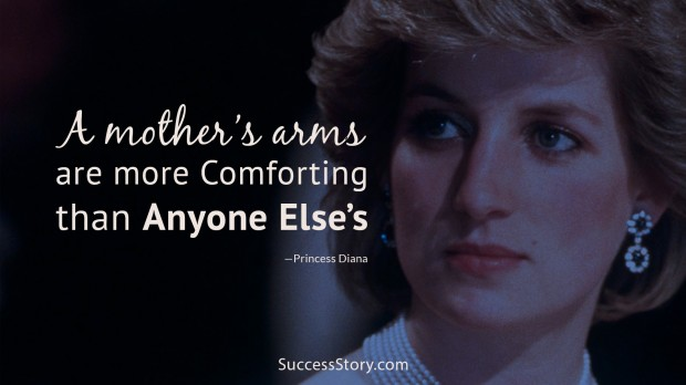 a mothers arms are more