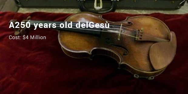 a250 years old delgesù