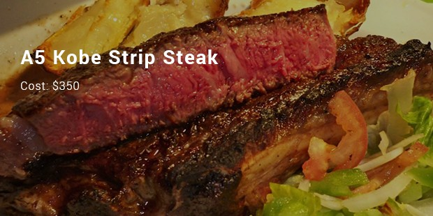a5 kobe strip steak
