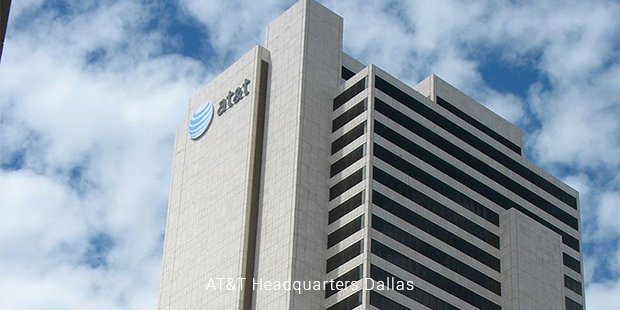 at&t headquarters dallas