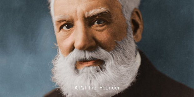 at&t inc founder
