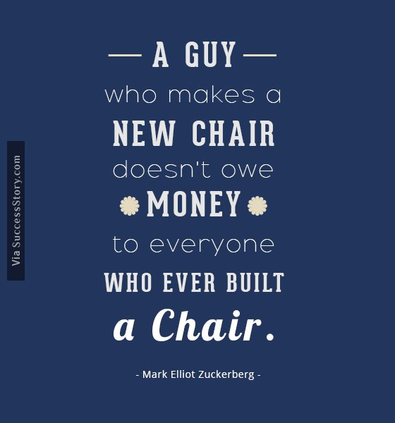 A guy who makes a new chair