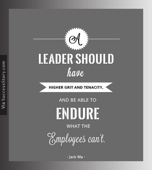 A leader should have higher grit