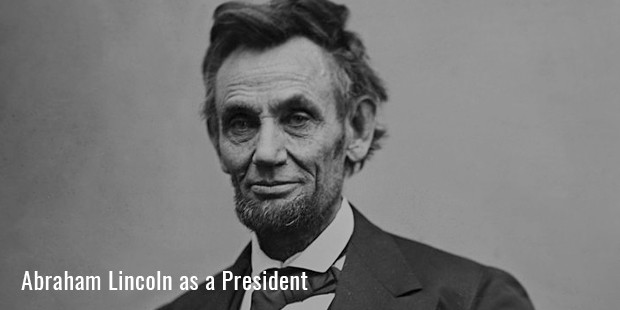 abraham lincoln as a president