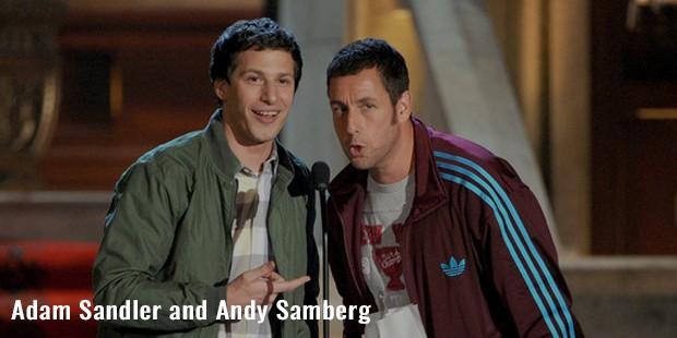 adam sandler and andy samberg