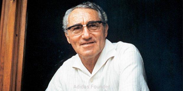 adidas founder