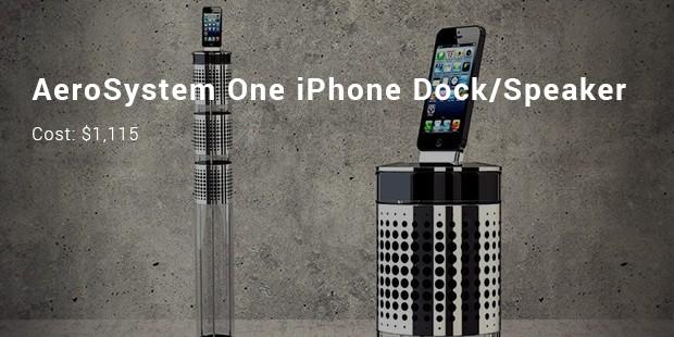 aerosystem one iphone dock