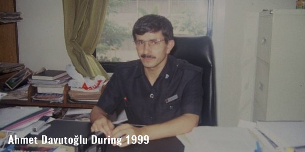 ahmet davutolu during 1999