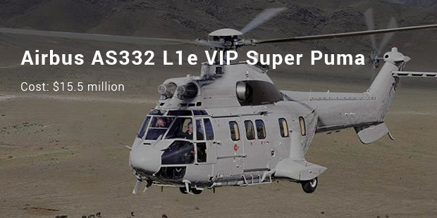 airbus as332 l1e vip super puma