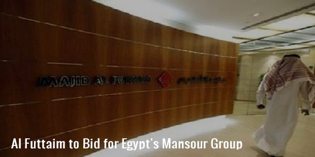 al futtaim to bid for egypt s mansour group