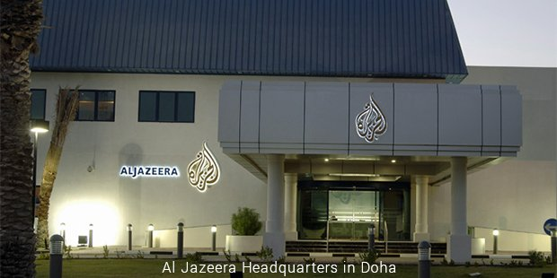 al jazeera headquarters in doha