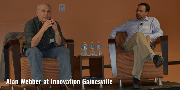 alan webber at innovation gainesville