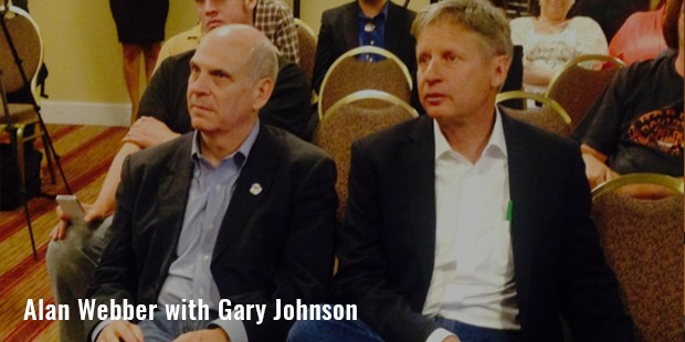 alan webber with gary johnson