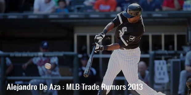 alejandro de aza  mlb trade rumors 2013
