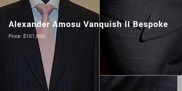 alexander amosu vanquish ii bespoke